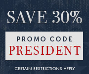 Save with promo code PRESIDENT